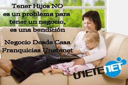 Que no te lo cuenten, vivelo tu mismo Con Unetenet, no solo puedes construir tu Libertad Financiera, también puedes ir creando la de tus hijos, infórmate ahora. http://tina30.unetenet.com