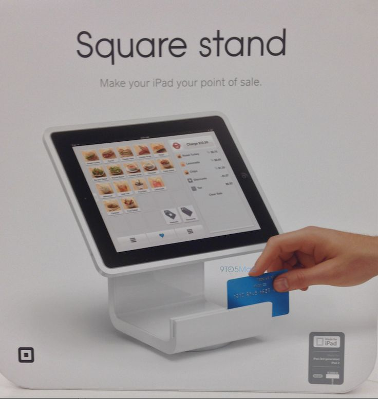Apple Retail, Square partner to sell iPad-based Square Stand beginning July 9