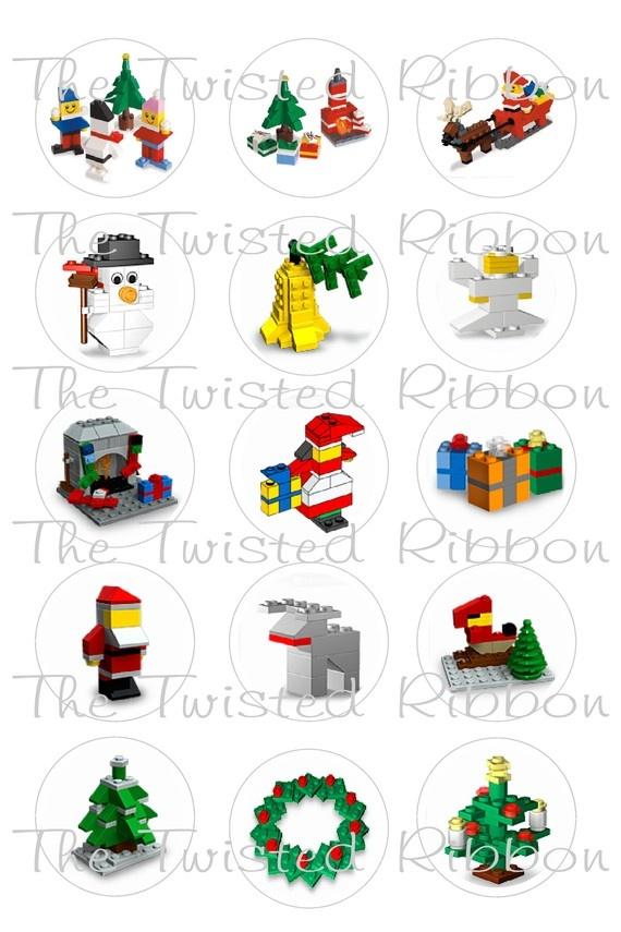Christmas lego set