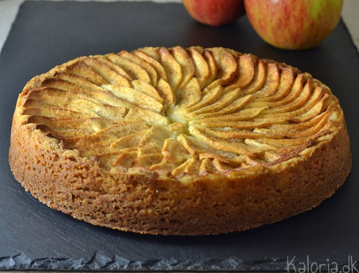 Marcipan æblekage