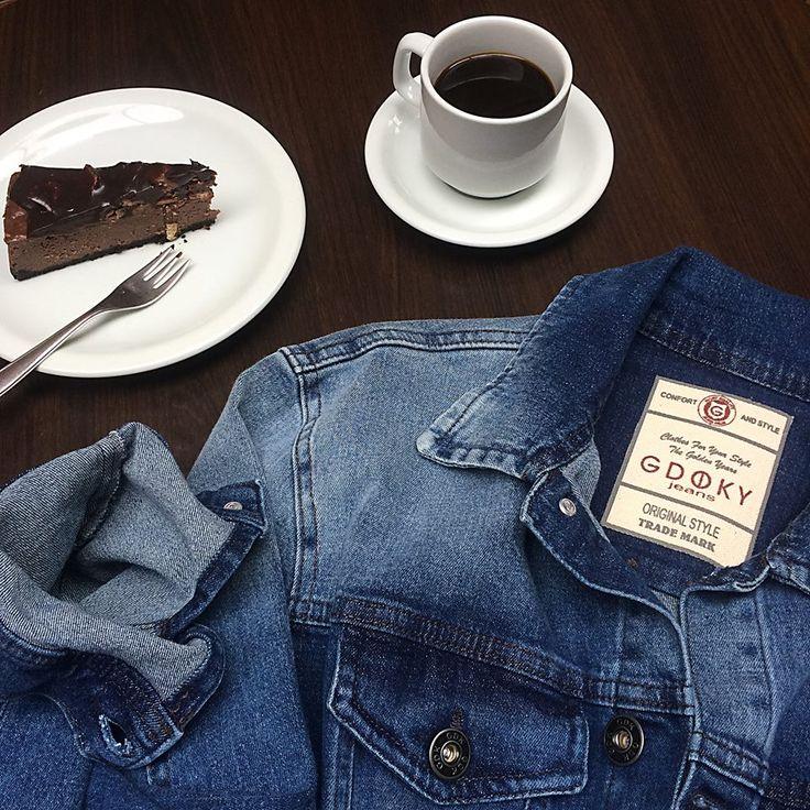 Bom dia! Que tal começar a quarta-feira com um café e um jeans Gdoky? ;) #Gdokymen #Quartafeira #Bomdia