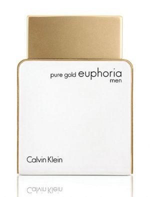 Pure Gold Euphoria Men Calvin Klein cologne - a new fragrance for men 2017