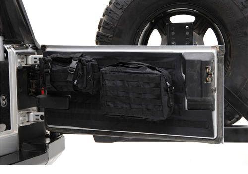Jeep Accessory - Smittybilt Jeep Wrangler G.E.A.R. Tailgate Cover - TJ / LJ / JK