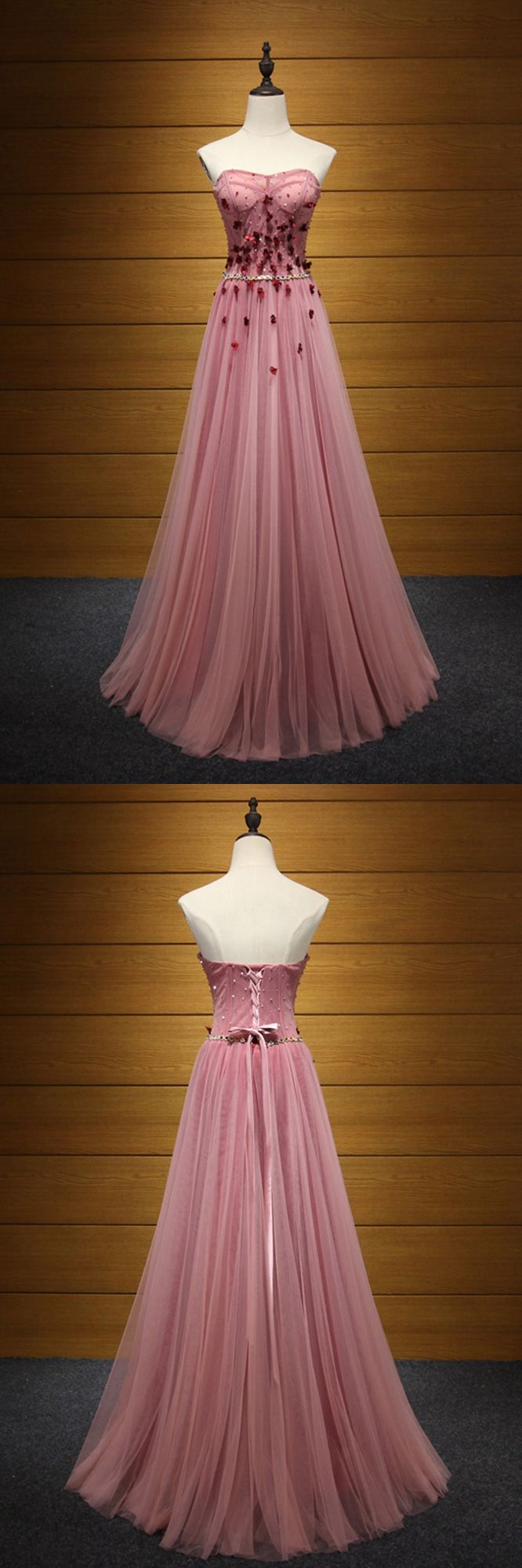 Only $189, Princess Long Pink Prom Dress Strapless With Beading Flowers #AKE18005 at #SheProm. SheProm is an online store with thousands of dresses, range from Prom,Formal,Evening,Pink,A Line Dresses,Long Dresses,Customizable Dresses and so on. Not only selling formal dresses, more and more trendy dress styles will be updated daily to our store. With low price and high quality guaranteed, you will definitely like shopping from us. Shop now to get $10 off!