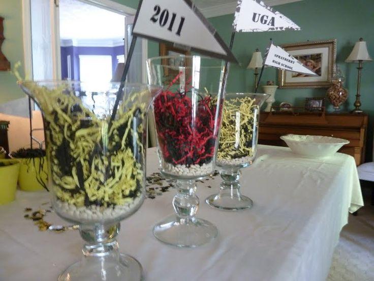 homemade graduation decorations show some decor at home with heidi graduation graduation table decorationsideas