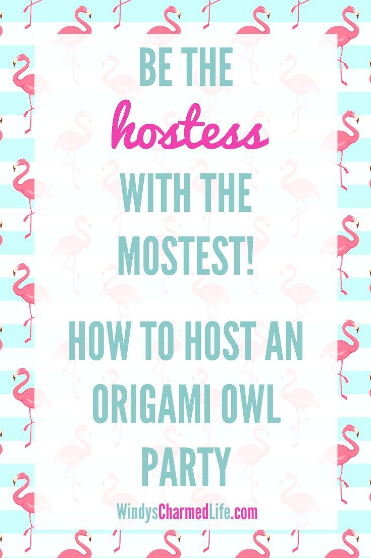 How to host a killer Origami Owl party!