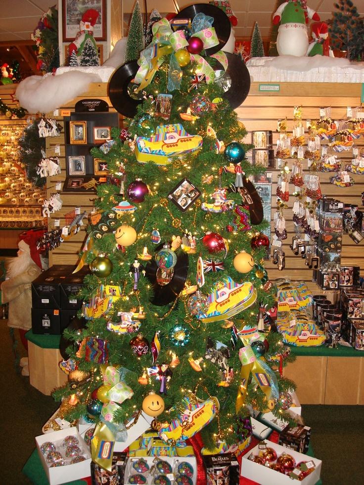 Beatles Christmas Tree Family Christmas Christmas