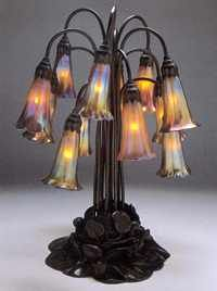 New Louis Comfort Tiffany Permanent Collection Display at University of Kentucky Art Museum