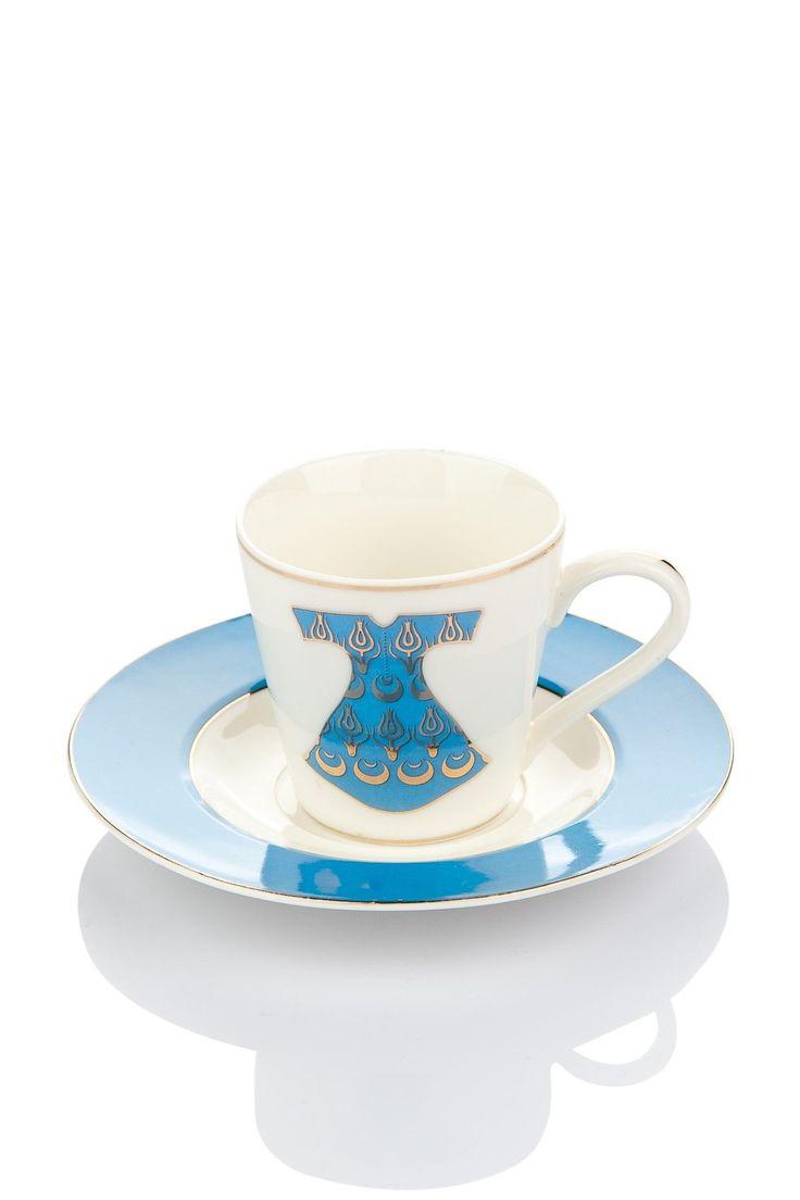 Kahve keyfinize birbirinden zarif desenlere sahip The Mia Kahve Fincanları eşlik ediyor. #DekorazonCom