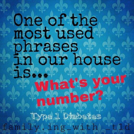 Type 1 Diabetes / Blood Sugar Number