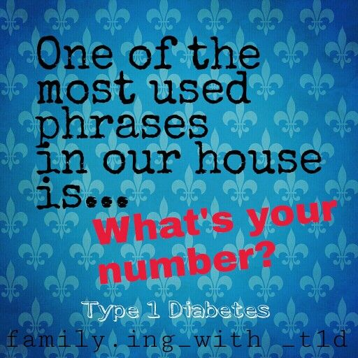 Type 1 Diabetes / Blood Sugar Number