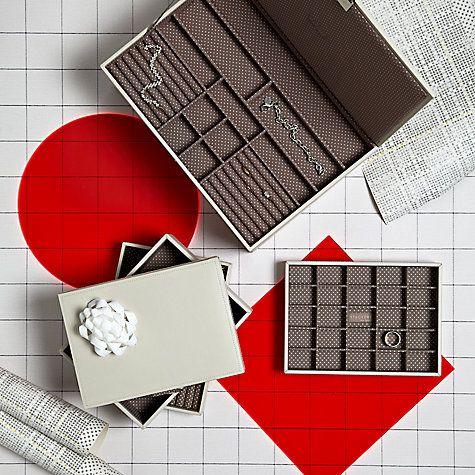 Buy Stackers Jewellery Box Lid, Vanilla Online at johnlewis.com