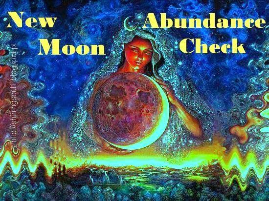 ShiningSoul: New Moon Abundance Check #April / Cheque da Abundâ...