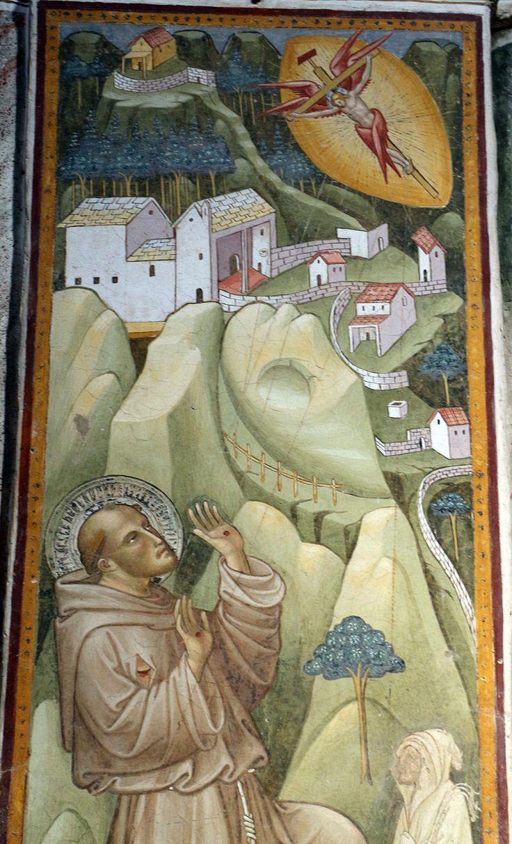Cenni di francesco, san francesco stigmatizzato della cappella della croce di giorno, 1410, 02.JPG