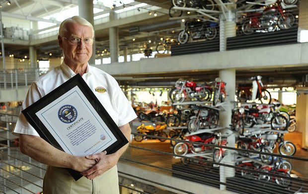 Guinness World Records names Barber Motorsports Park as world's largest motorcycle museum