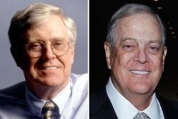 A political network linked to conservative billionaires Charles and David Koch raised $407 million in the last presidential election.