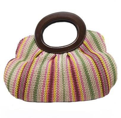 Bolsa de tramas coloridas