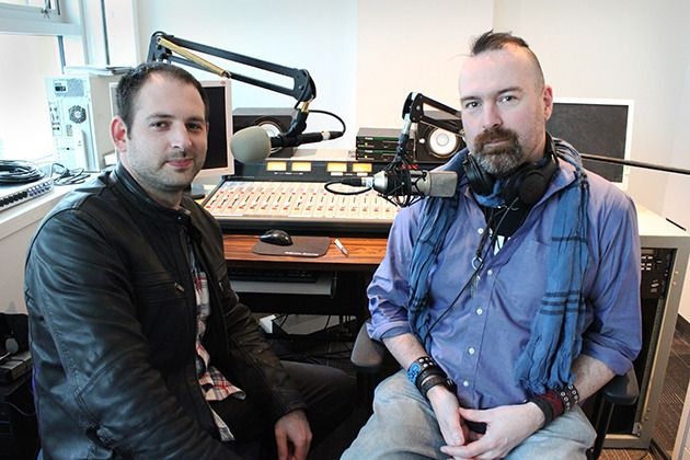 CIVL FM Station Manger Aaron Levy (left) and FVMA Coordinator James Kasper are organizing the first annual Fraser Valley Music Awards to celebrate and honour local musicians. Online music submissions are open until March 31.