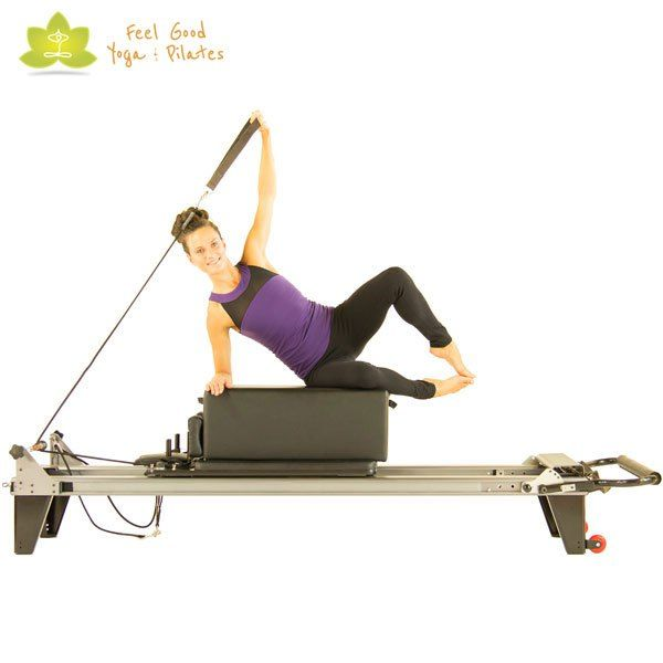 Clam Pilates Reformer Exercise 2