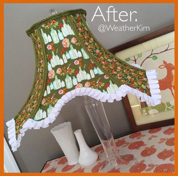 37 best handmade lamp shades made by weatherkim images on whimsical little girl nursery fabric lampshade lamp by weatherkim mozeypictures Choice Image