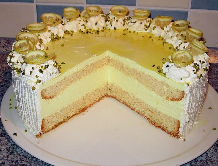 Zitronen - Joghurt - Torte, ein schmackhaftes Rezept aus der Kategorie Torten. Bewertungen: 42. Durchschnitt: Ø 4,3.