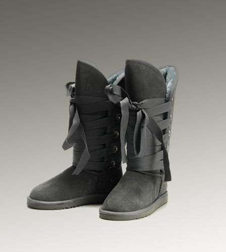 UGG Roxy Tall 5818 Grey Boots For Sale In UGG Outlet – $104.04 Save more than $1