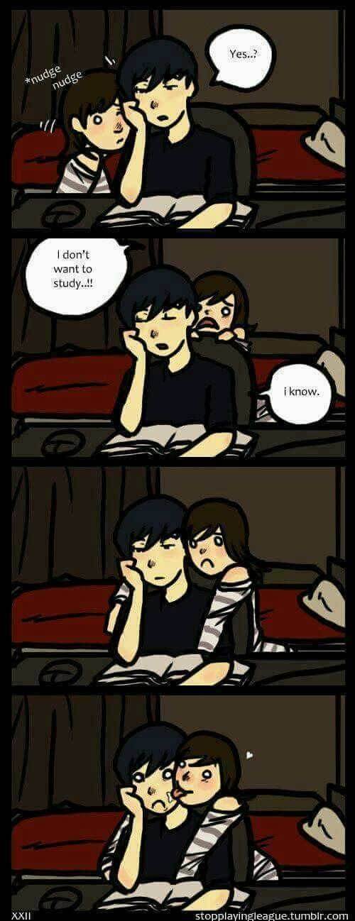 PFFTT literally me to my BF haha
