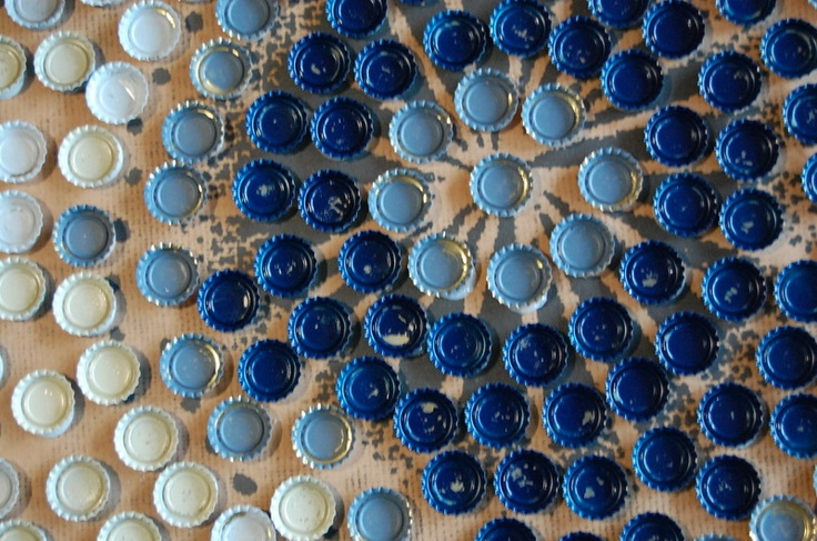 14 best images about recycled upcycled art on pinterest - Plastic bottle caps crafts ideas ...