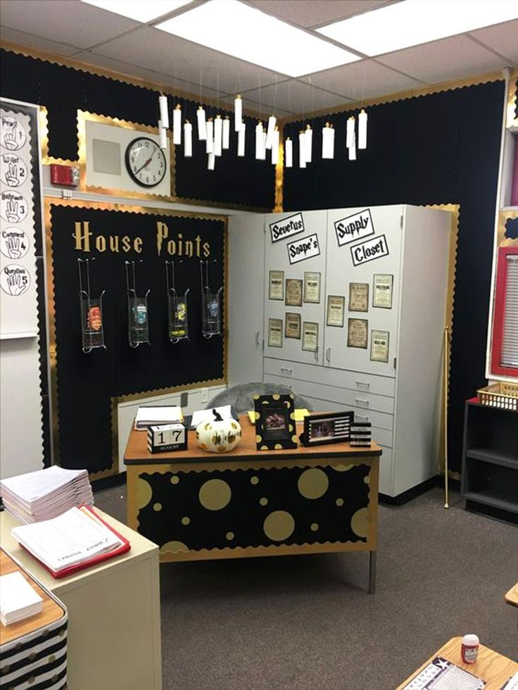 Image result for harry potter themed classroom ideas