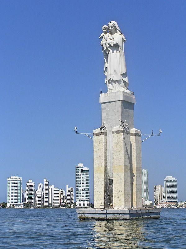 Virgen en la Bahía, Cartagena, Colombia | Sudamérica