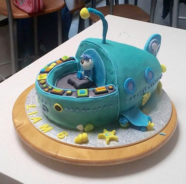 Octonaughts cake Captain barnacles