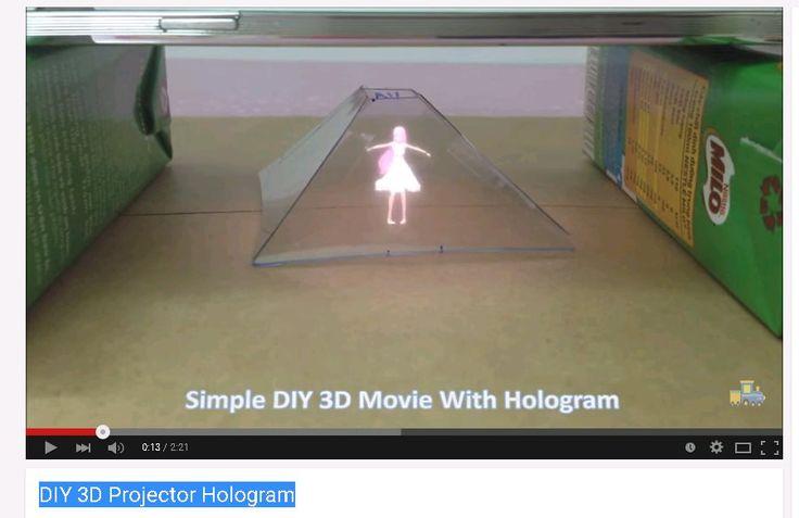 DIY 3D Projector Hologram