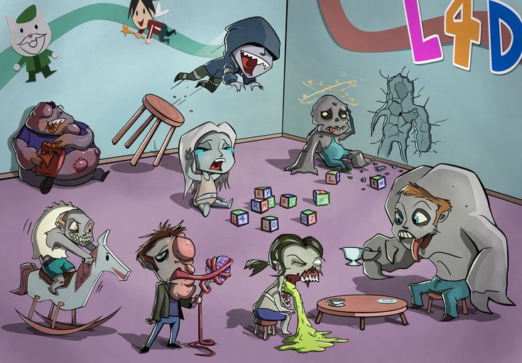 Left 4 Dead Zombie Daycare