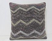 organic throw pillow 18x18 DECOLIC luxury cushion large area rug boho pillow handmade decorative pillow colorful 28329 kilim pillow 45x45