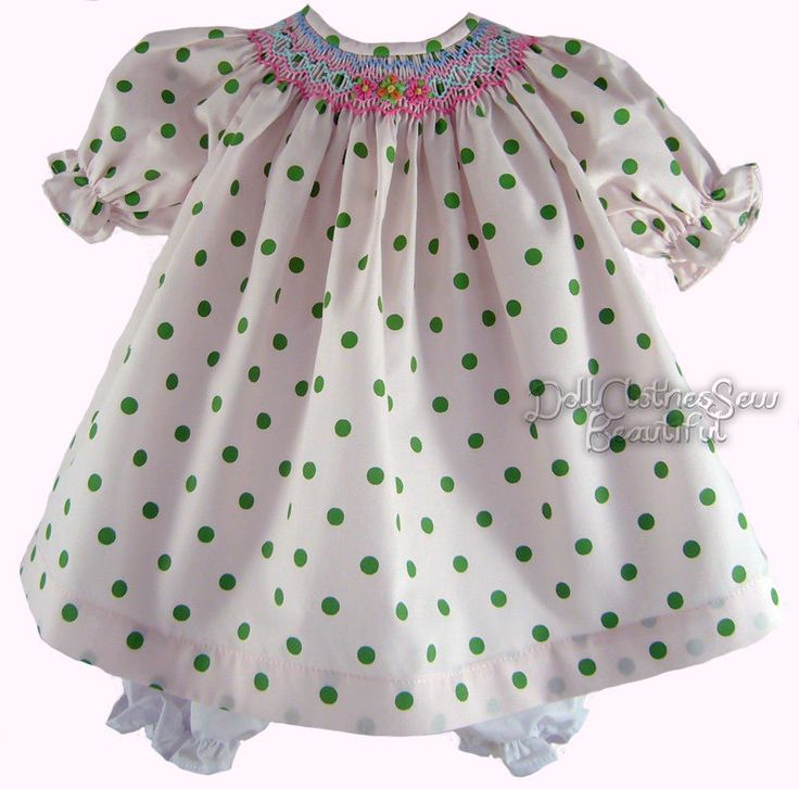 17 Best Images About American Girl Smocked Dresses On