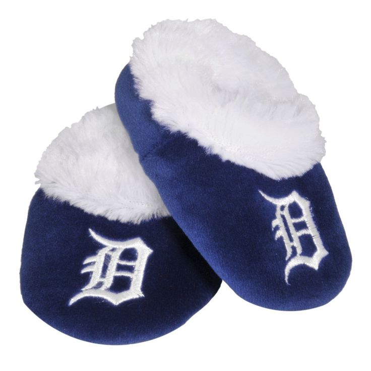 Detroit Tigers Official MLB Baby Bootie Slippers