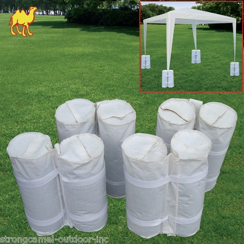 New 4 Pcs Canopy Tent Weight Sand Bag Anchor Kit