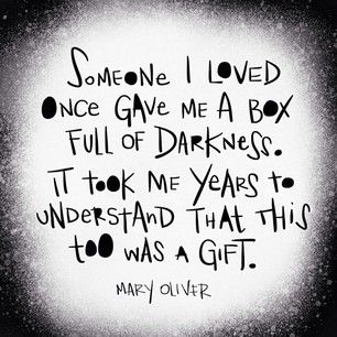 Mary Oliver via honeytruffleco