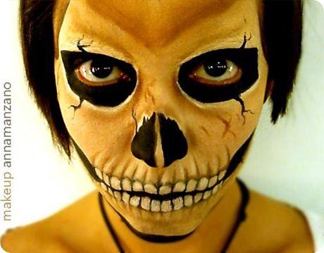 Otro fabuloso maquillaje para Halloween, o para cuando gustes...