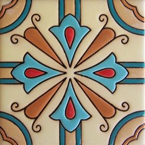 painted tile designs. High Relief Tile \u0027Maira\u0027 From Mexico Is Ideal For Any Indoor Outdoor Decor Project Painted Designs E
