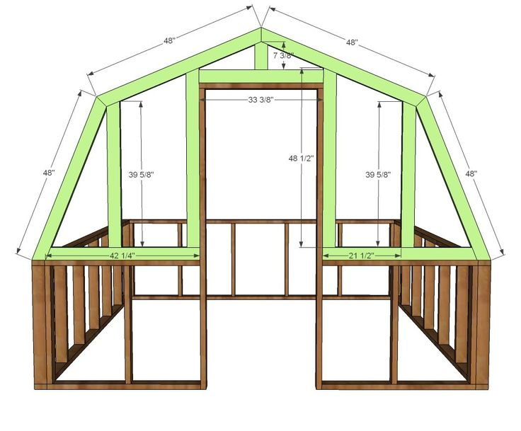 Ana White Build A Barn Greenhouse Free And Easy Diy
