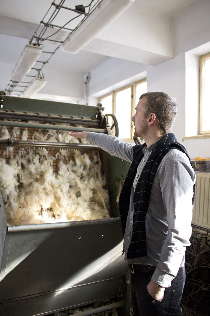 The story about woolen blankets made in a small family factory in Czech Republic #hnstly #stories #wool #oldstyle #tradition