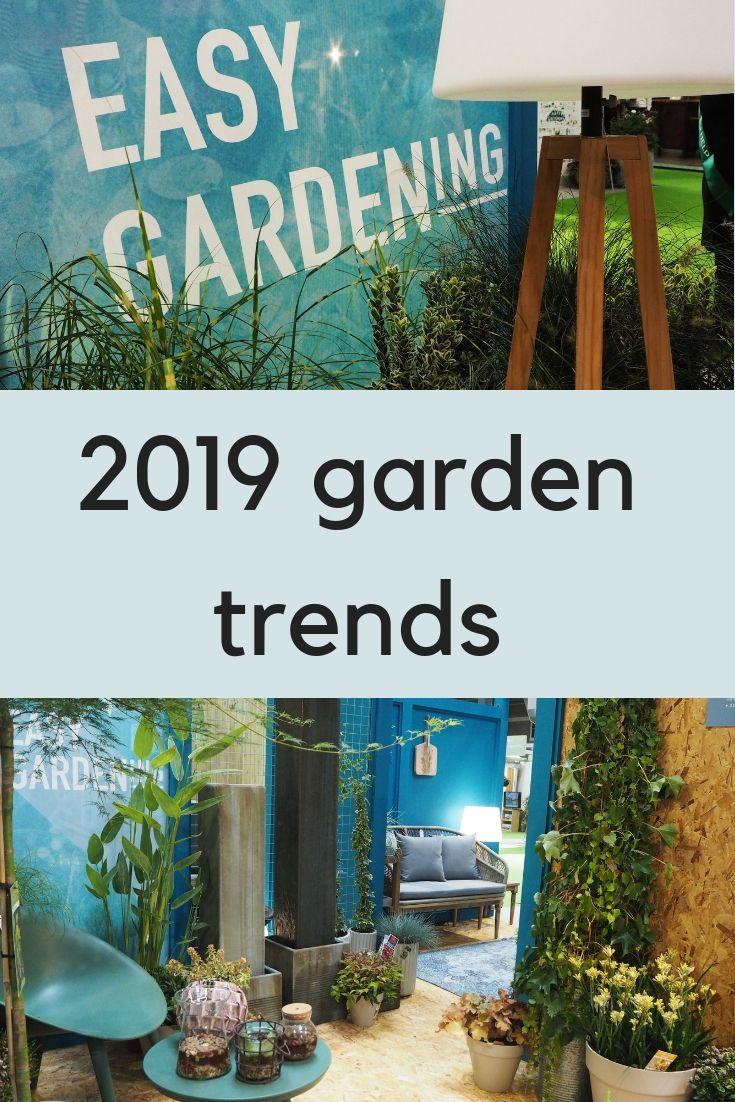 The top 2019 garden trends from GLEE | Growing | Garden deco