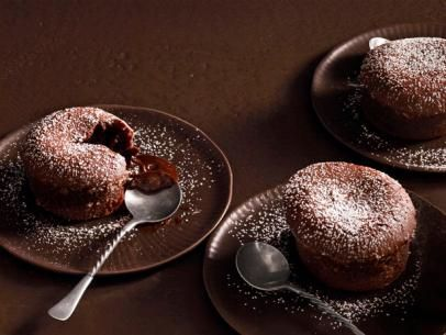 Molten Lava Cakes by Patrick and Gina Neely from foodnetwork.com