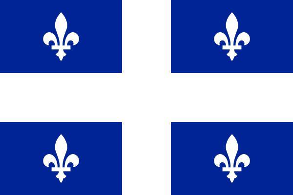 Flag of Quebec - Fleur-de-lis - Wikipedia, the free encyclopedia