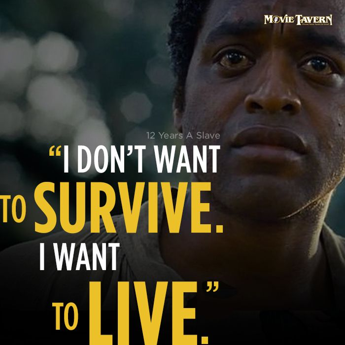 12 Years a Slave is an excellent movie the represents what slaves went through in the United States. It does an excellent job of showing how slaves weren't able to live their lives the way they wanted to because of their slavery.