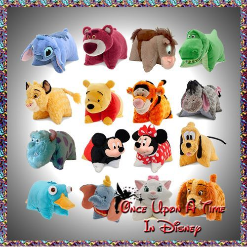 Jake would like almost all of these (not the girly ones)! He had 9 pillow pets now!
