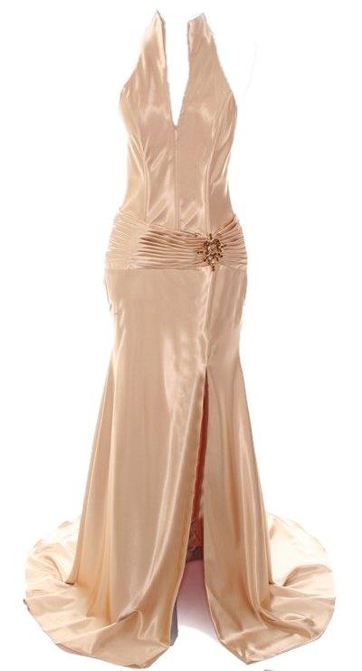 Ivory 30s hollywood glam wedding dress 1930 39 s inspired for Hollywood glam wedding dress