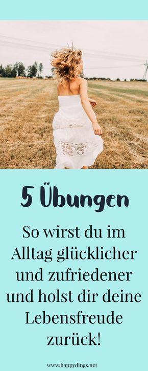 5 Übungen, die sofort glücklich machen – Kaja Witt