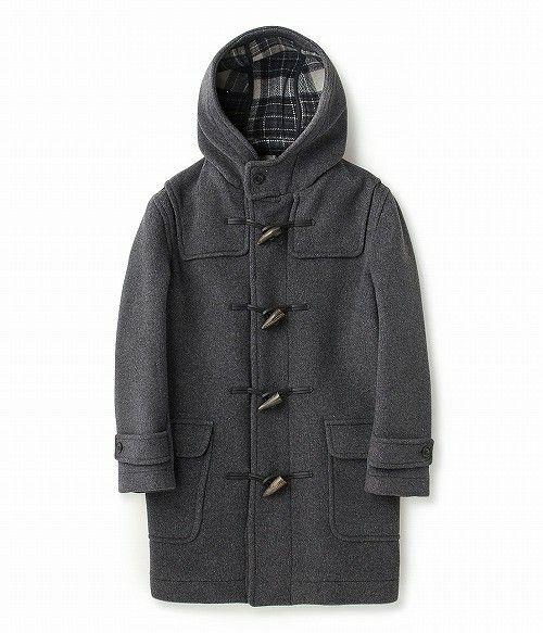 LE JUN MEN(ル ジュン メン)の【先行予約】【LONDON TRADITION】Duffle coat(ダッフルコート)|グレー